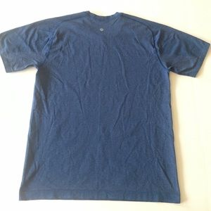 LULULEMON Blue Mens Workout Tee Size M